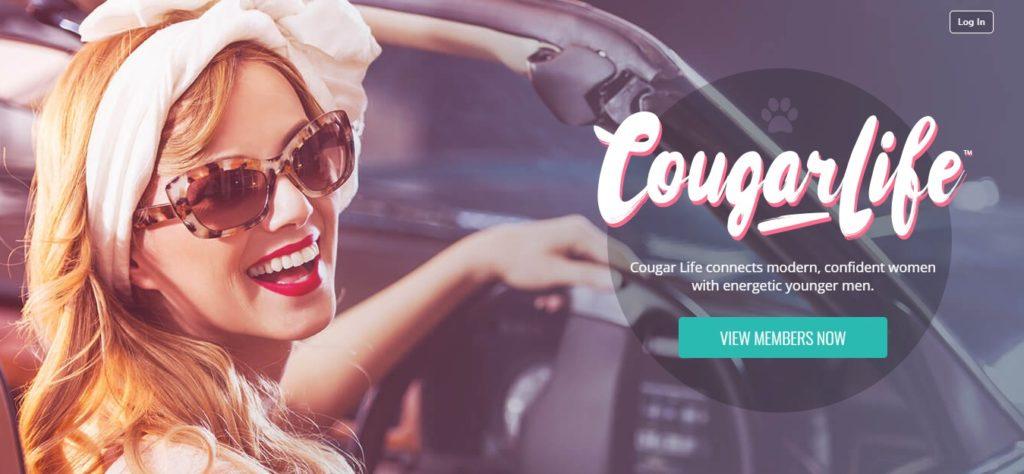 Cougar Life Landing Page