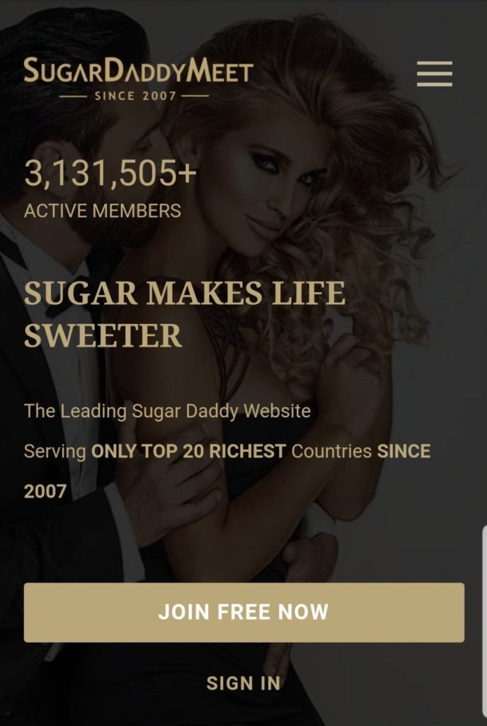 SugarDaddyMeet App